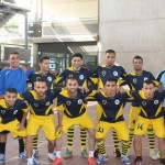 Misrata University team crowned champions of internation five-a-side football tournament