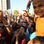 Yesterday's Benghazi demonstrations attract hundreds