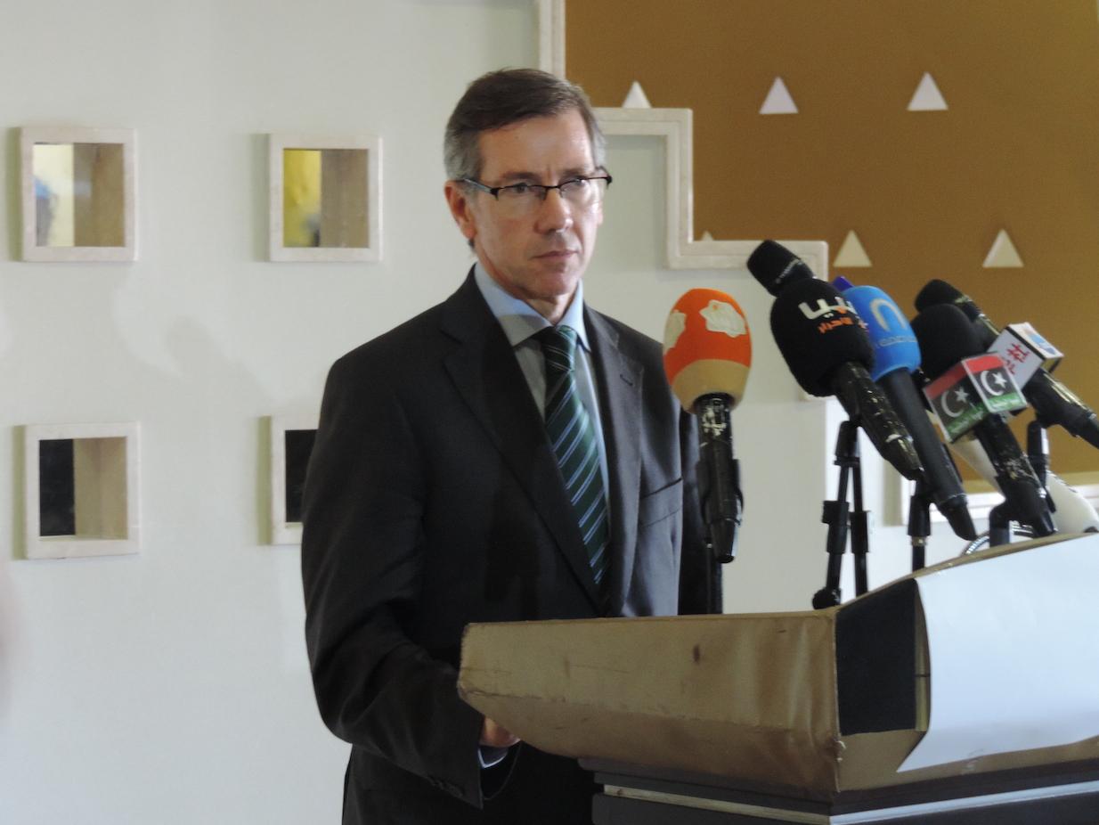 EU High Representative's Special Envoy for Libya Bernardino Leon (Photo: Callum Paton)