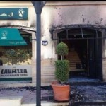 Tripoli Coffee shop bombed