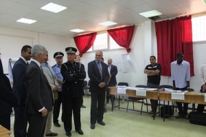 Opening ceremonies for police training facilities (Photo: British Embassy)