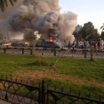 Violent clashes around Tripoli International Airport