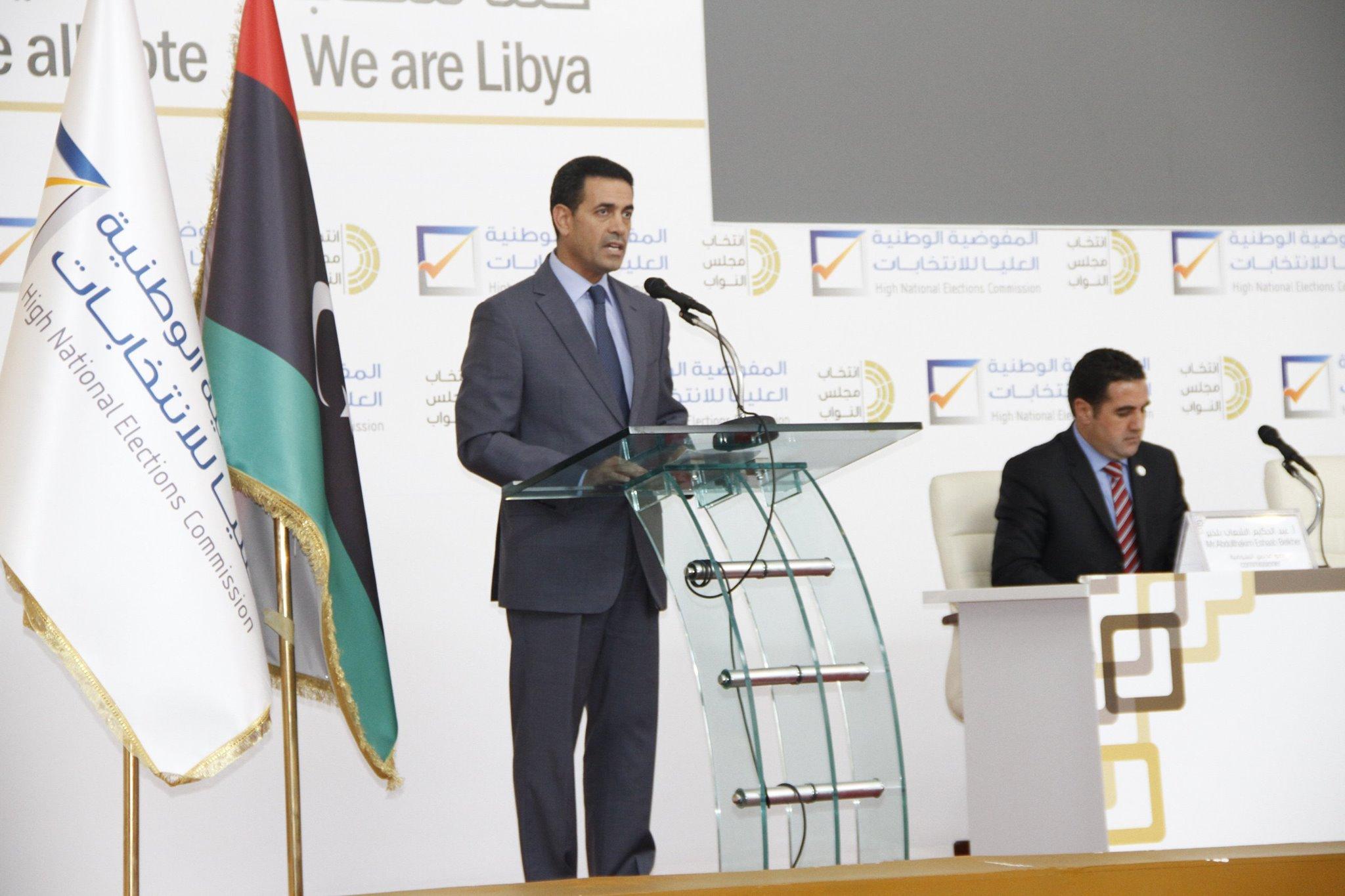Emad Al-Sayeh speaking at HNEC headquarters (Photo: HNEC)