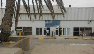 Mitiga Airport was closed today (Photo: Libya Herald)