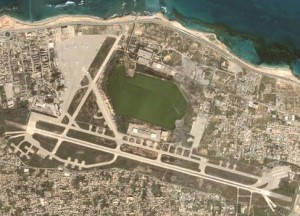 Mitiga airport was suddenly closed today by the Tripoli authorities (Photo: Archives).