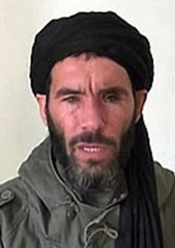 Mokhtar Belmokhtar, the AQIM leader behind the Algerian gas plant massacre (file photo)
