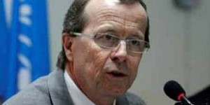 UNSMIL's Martin Kobler slams Ganfouda mutilation (File photo)