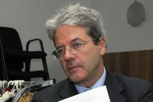 Italian foreign minister Paolo Gentiloni (Italian government)