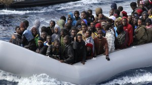 Illegal migrants continue to risk their lives to get to Europe(File photo)