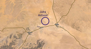 Jufra airbase (Source: Google maps)