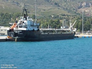 The Russian owned tanker Temeteron (Photo: MarineTraffic.com)