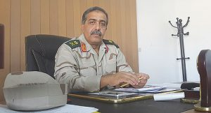 Chief of Staff  and miliatry governor Nazhuri(ile photo).