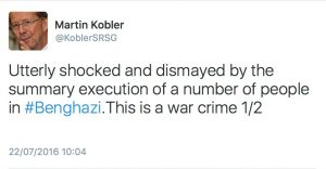 Kobler tweet