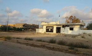 Gwarsha checkpoint taken from IS by Saiqa brigade