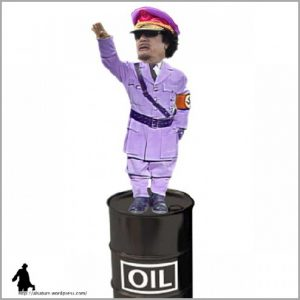 One of Alsature's Qaddafi lampoons