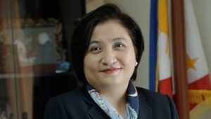 Filipina diplomat Hjayceelyn Quintana (Photo: Philippines gov)