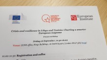 The ECFR organized a workshop on Libya in London on Friday attended by leading experts and officials (Photo: Sami Zaptia).