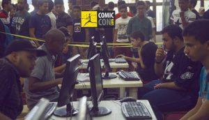 Gaming was very popular at Comic Con Libya (Photo: Comic Con Libya).