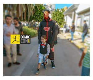 Cos Play or costume play was one of the forms of art on display (Photo: Comic Con Libya).