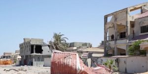 Some of the devastation in Sirte (Photo: ICRC)