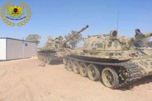 Tanks Ras Lanuf
