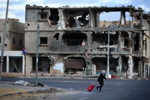 Damaged Sirte is also littered with explosives (Photo: UNICEF)