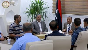 Thinni meeting with Interior Minisry officials on