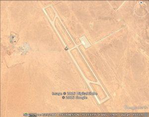 A Google Earth shot of Al-Khadim from 2004