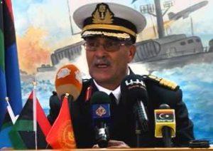 Navy spokesman Ayoub Omar Qassem (Photo: Navy)