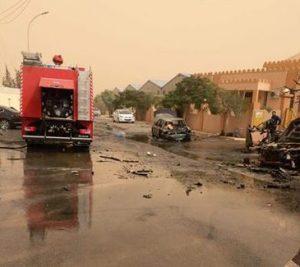 Scene of the bombing (Phto: Social media)