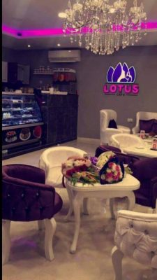 The women-only Lotus café just opened in Dubai Street (Photo: Louts Café)