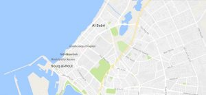 Suq Al-Hud and Sabri (map based on Google Earth)