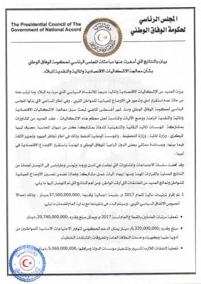The GNA announced that it had agreed a LD 37.56 BN 2017 ''budget'' with the CBL (Photo: GNA).