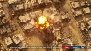IS says this is the moment of today's explosion