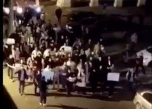Protests in Tripoli last night (Photo: #عندكم_ولاية)