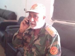 Ahmed Abu Shahma Sirte's new military governor (Photo: BM)