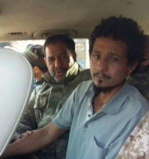 "Akreem Al-Gabali, ""IS policeman"" found in Ganfouda water tower (Photo: social media)"