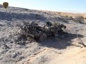Part of t devastation from last week's US air strikes (Photo: social media)