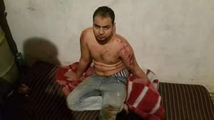 A terrorist suspect captured today (Photo: socilal media)