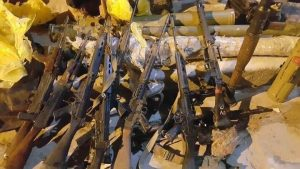 Ganfouda weapons