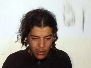 Naizar Jalal Atwier after his arrest near Ajdabiya (Photo: social media)