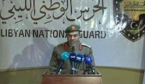 LNG commander, Colonel Mahmud Al-Zaghel today (hot: social media)