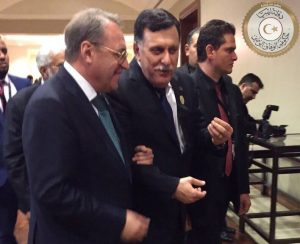 Serraj and Bogdanov in Jordan Photo: PC)