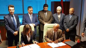 ENAV and Civil Aviation authority sign Mitiga deal (Photo: Italian Embassy)