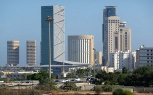 Tripoli's Centra Business District (Photo: Social media)