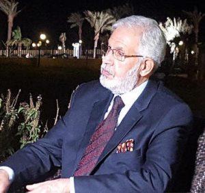 Mohamed Siala PC/GNA's Foreign Minister designate(Photo: CNN Arabic)