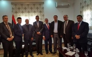 Perrone with Ageela Saleh, Ali and members ofthe HoR
