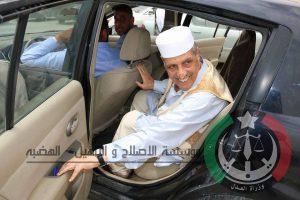 Gaoud being released yesterday (Photo: Ministry of Interior)