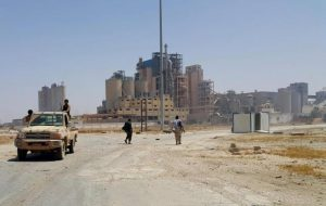 Foreign experts are helping reopen Benghazi's Hawari cement factories (Photo: Social media).