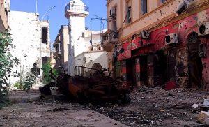 Suq Al-Hout's Al-Ageeb Street (Photo: LNA)